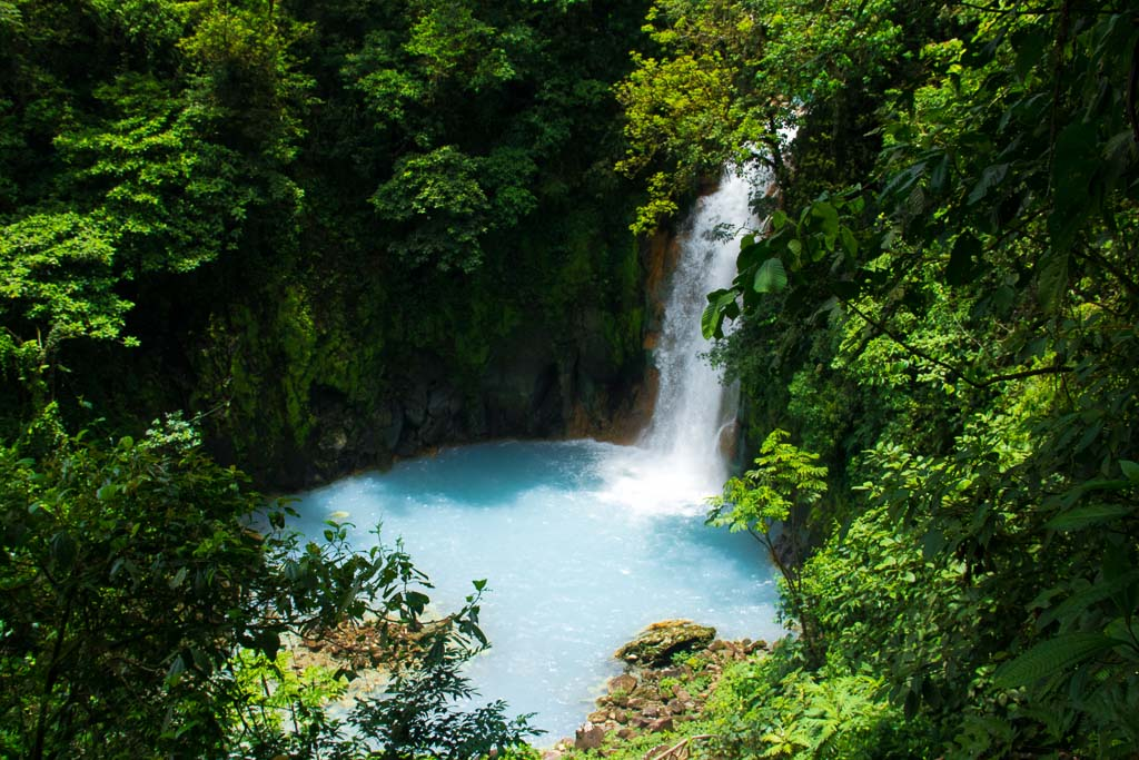 Catarata Rio Celeste Waterfall