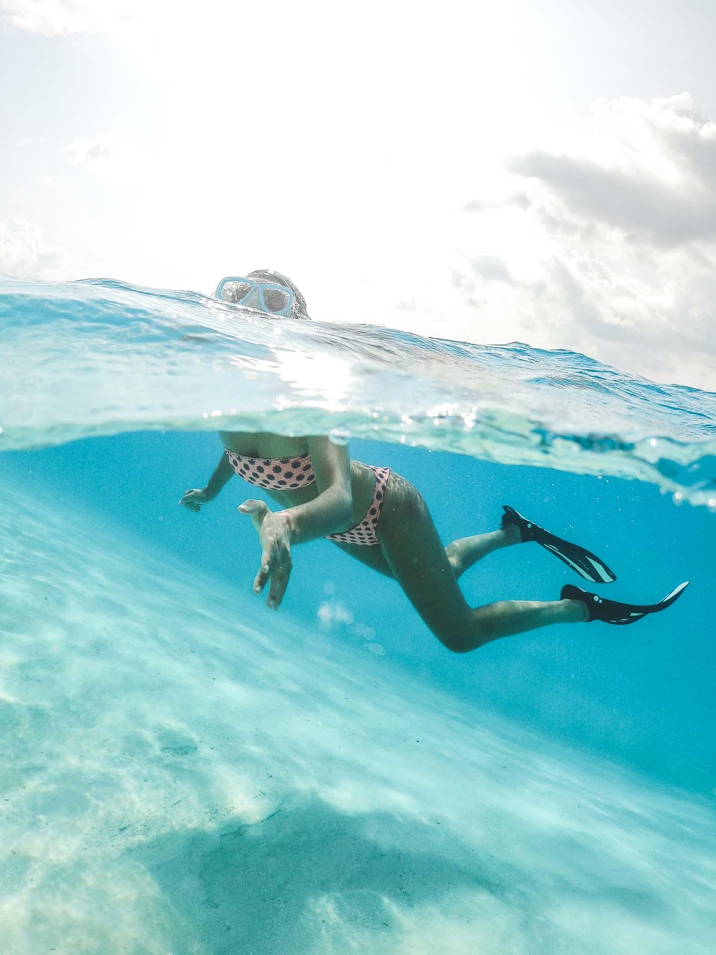 Maldives snorkeling on Rasdhoo