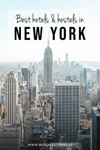 Best hotels & hostels in New York Pinterest