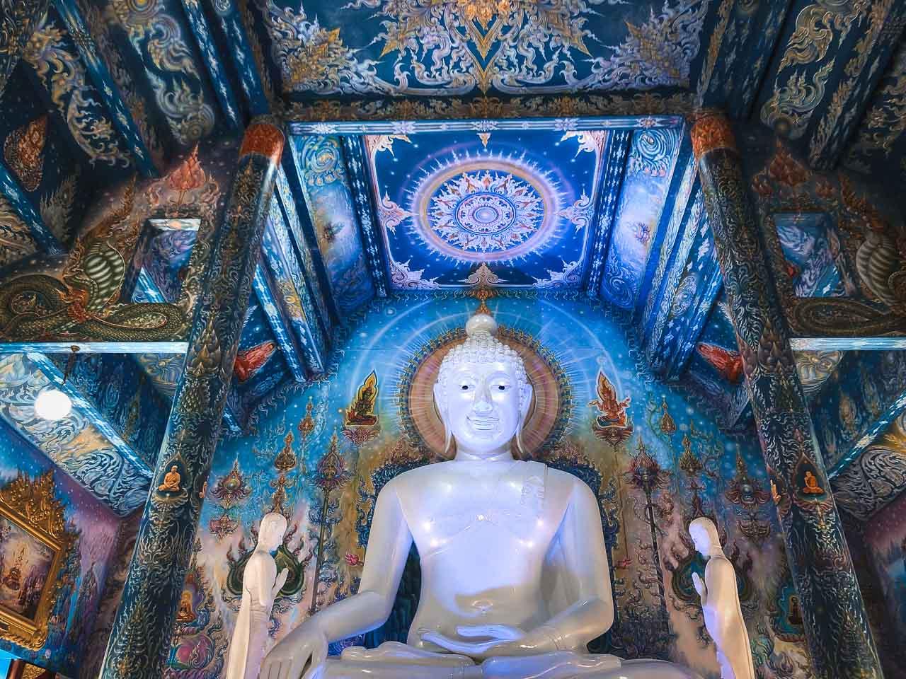 The Wat Rong Seua Ten Temple - Chiang Rai