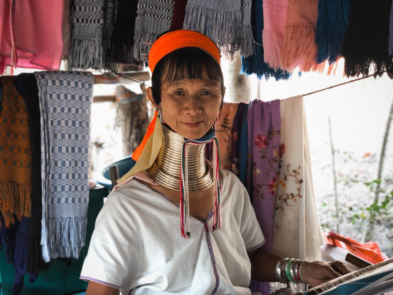 The Karen Long-Neck tribe