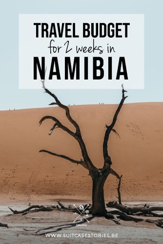 Travel budget for 2 weeks in Namibia
