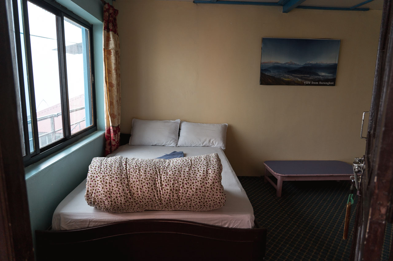 Guesthouse place to stay during poon hill trek