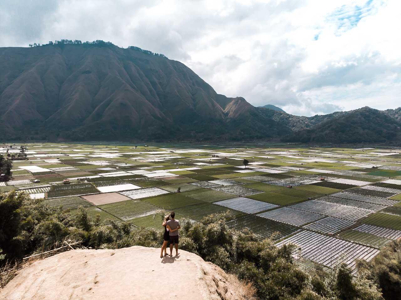 Bukit Selong viewpoint Lombok