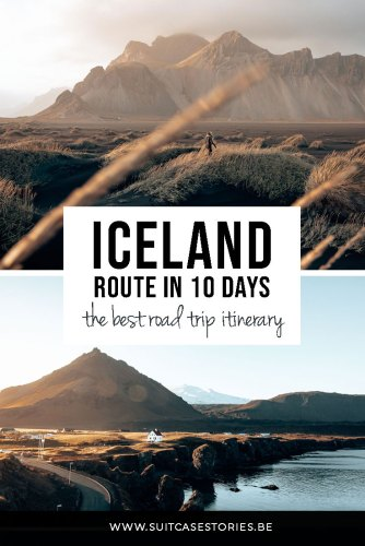 Iceland route - the best travel itinerary for 10 days