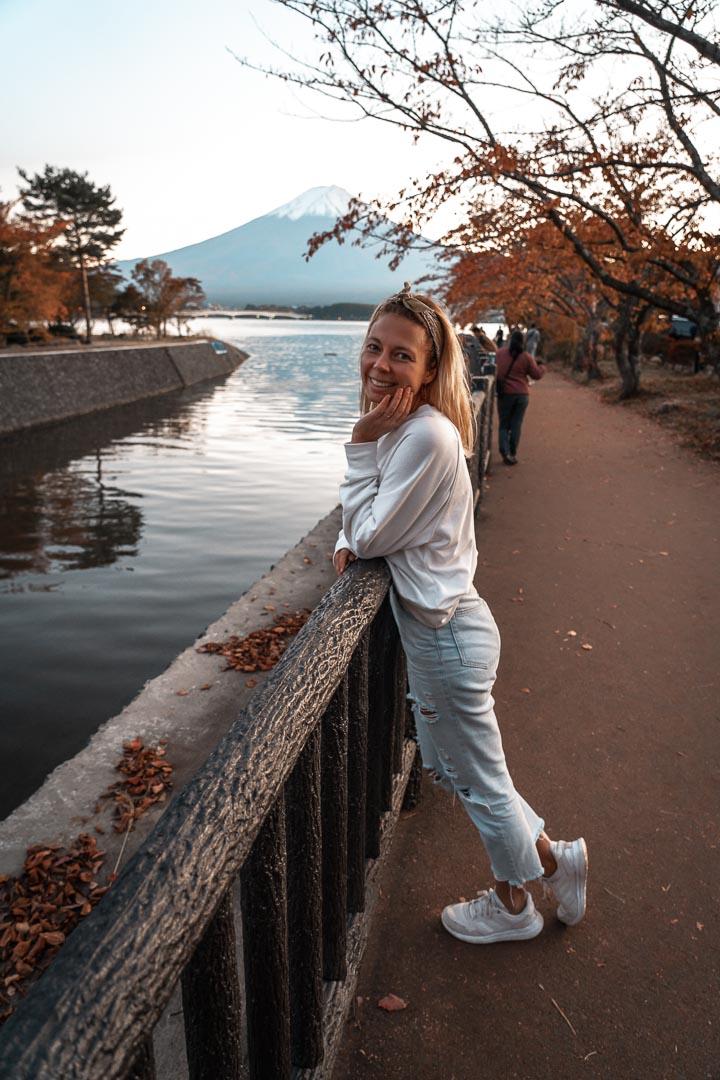 Japan travel itinerary Mount Fuji