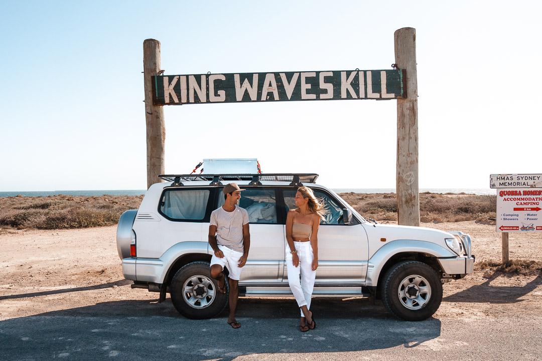 Our car in Western Australia