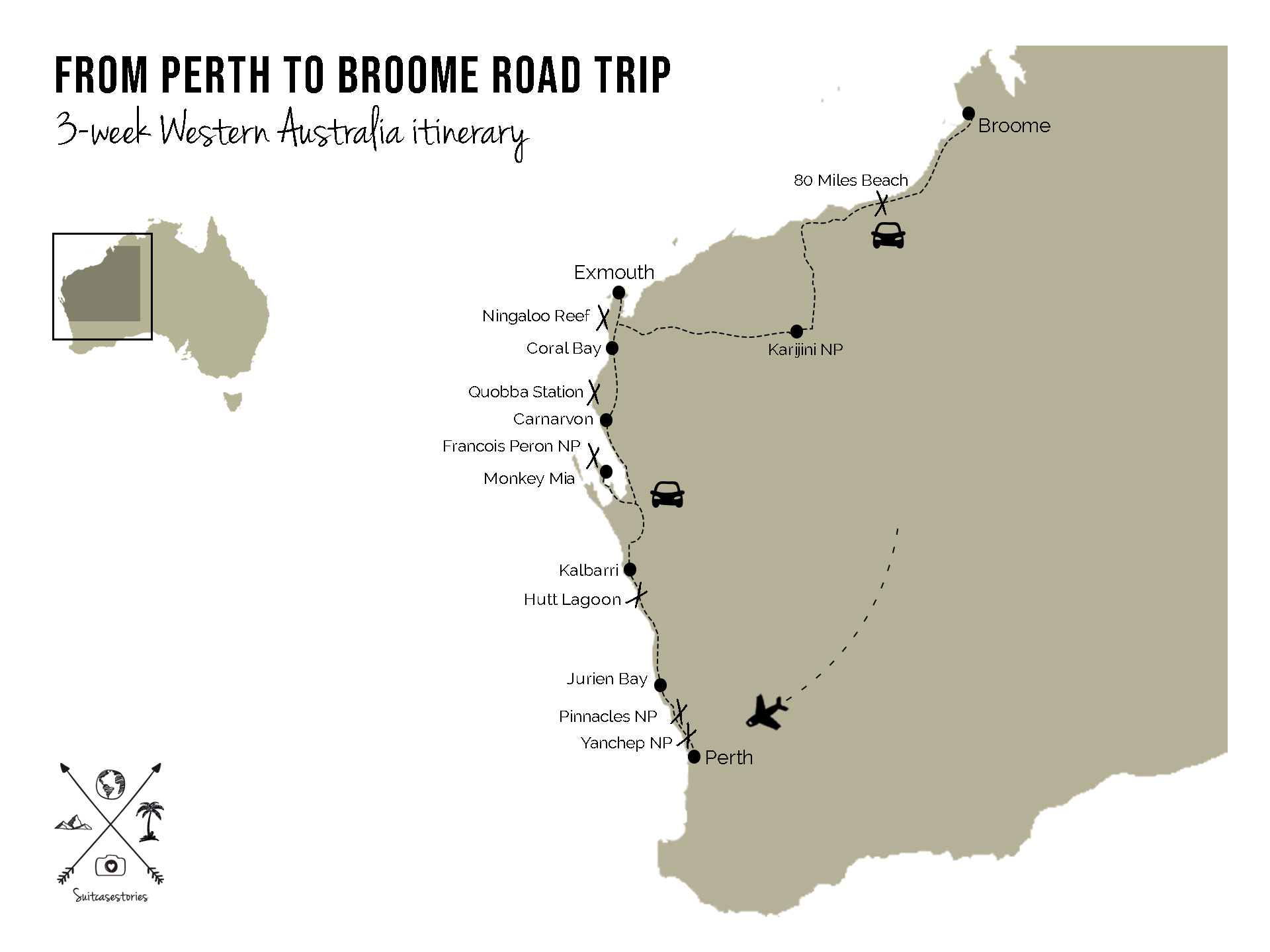 From Perth to Broome Road Trip: the perfect 3-week Western Australia itinerary