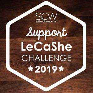 Button for Support LeCashe Challenge