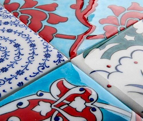 Iznik Foundation tile designs © Iznik Tiles and Ceramics