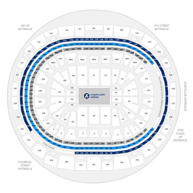 Staples Seating Chart Lakers Brokeasshome Com