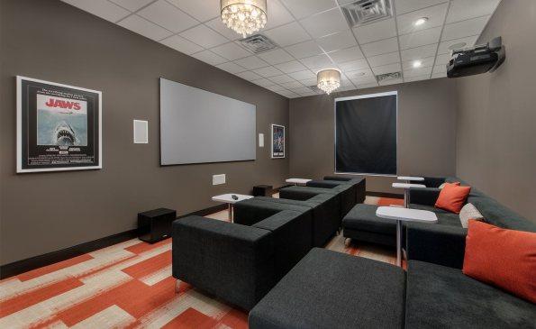 Corners Theatre Room