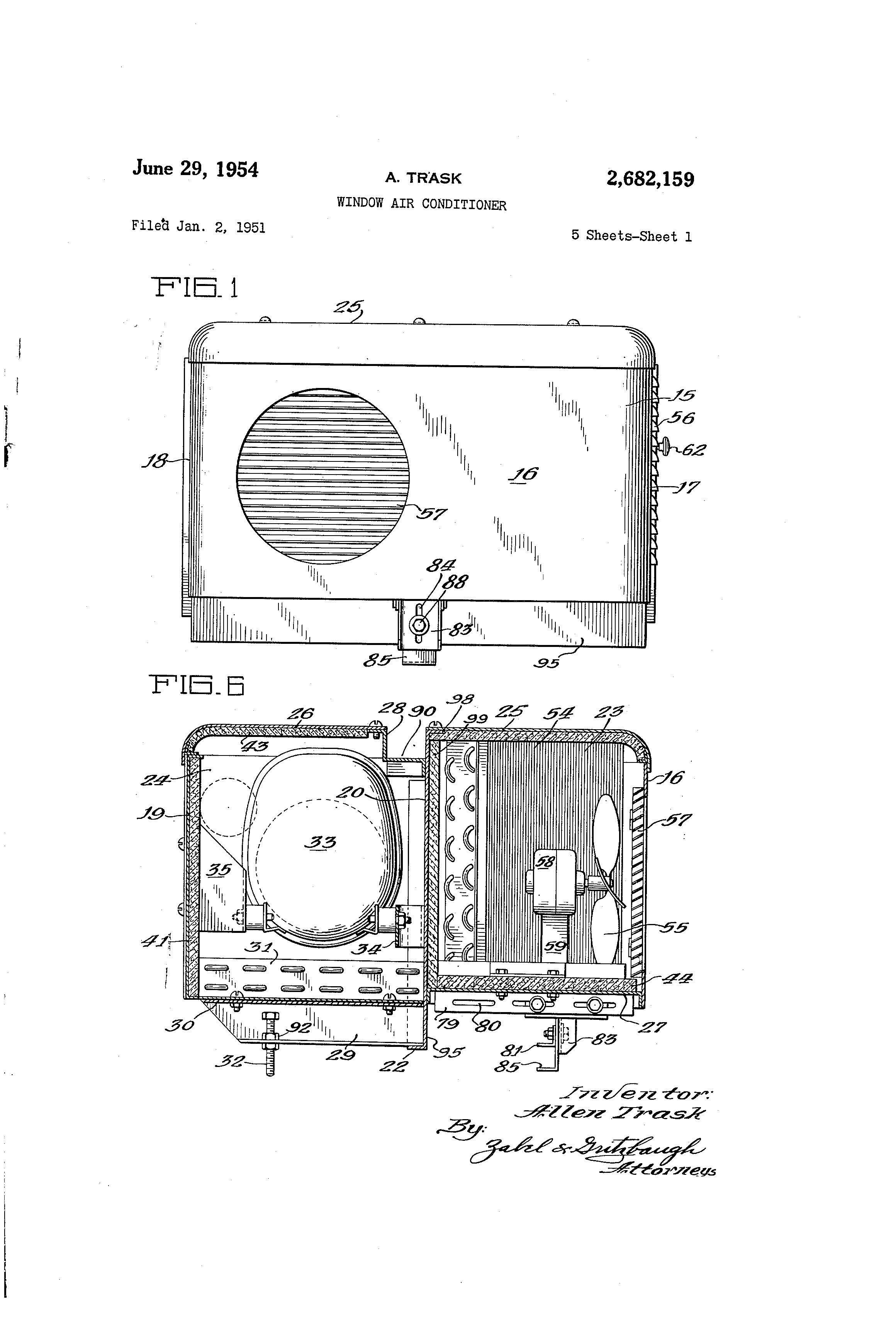 Patent Of The Day Window Air Conditioner