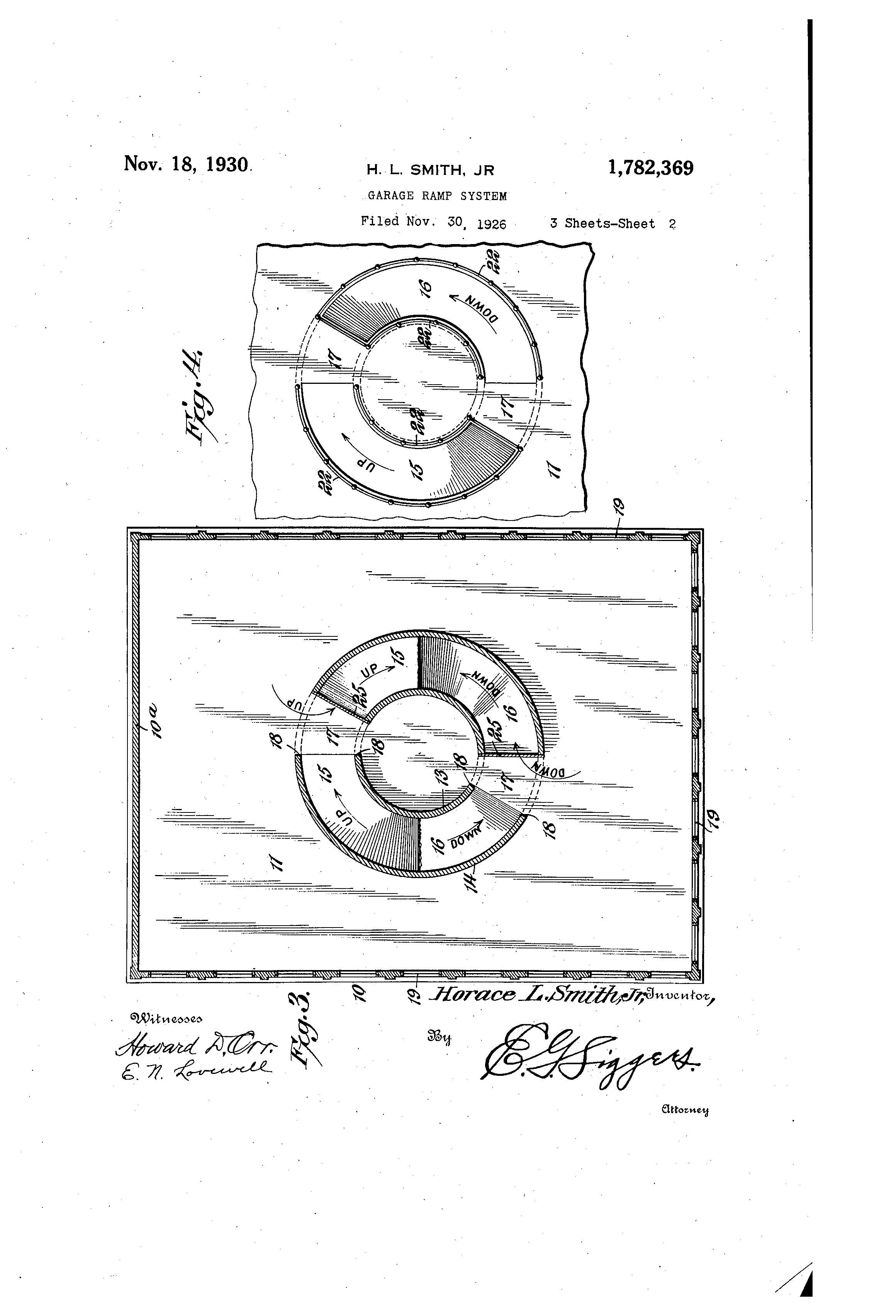 Patent Of The Day Garage Ramp System