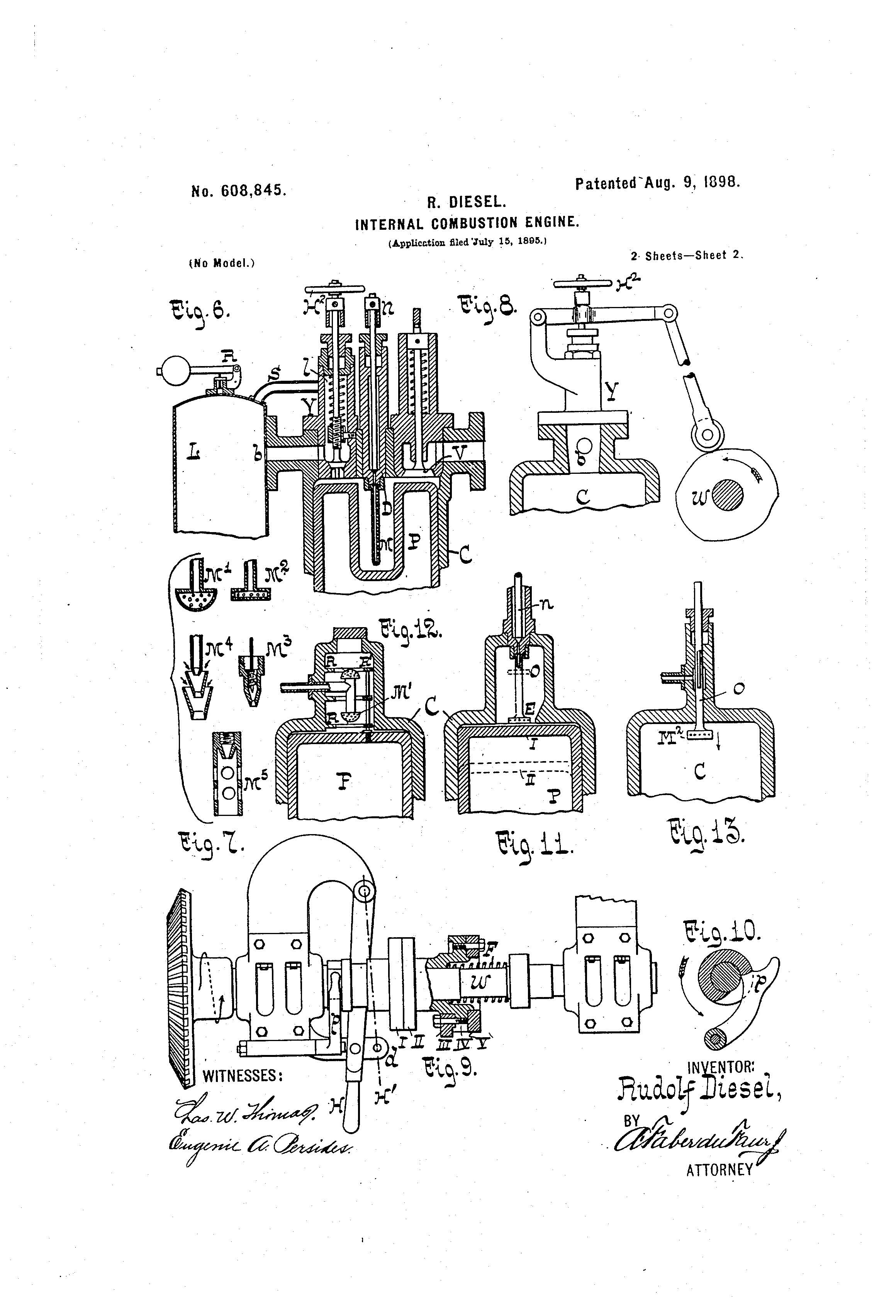 Patent Of The Day Internal Combustion Engine