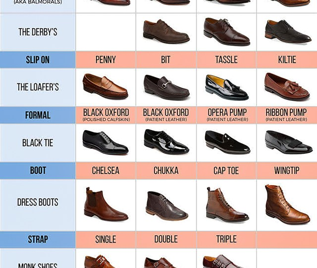 How To Match Your Shoes Color Type With A Suit Suits Expert