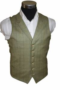 Tweed Waistcost for Men