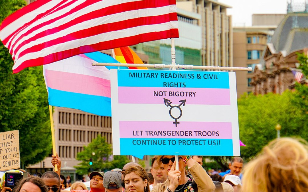 SUPPORT OUR TROOPS: Block Trump's Transgender Ban