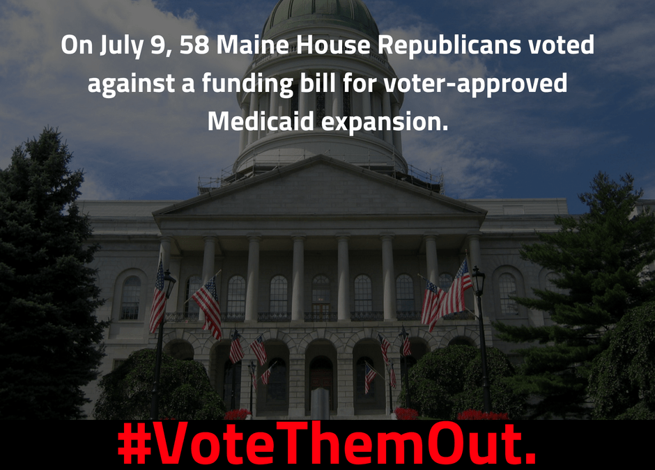 #VoteThemOut: Defeat House Republicans who opposed Medicaid expansion
