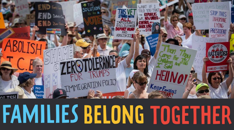 #FamiliesBelongTogether: Oppose Inhumane Immigration Policy