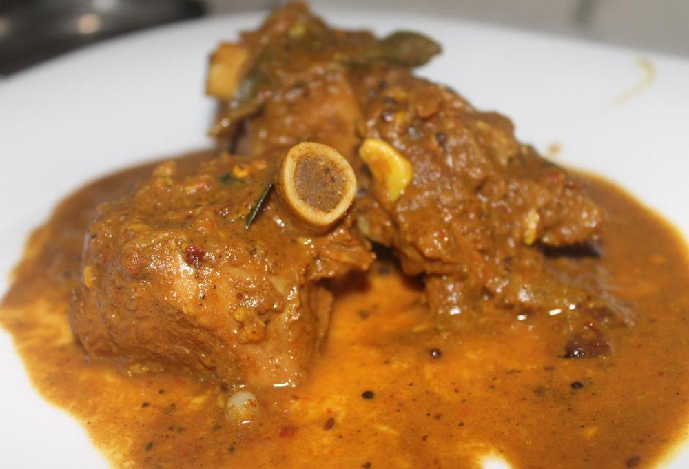 mutton masala curry