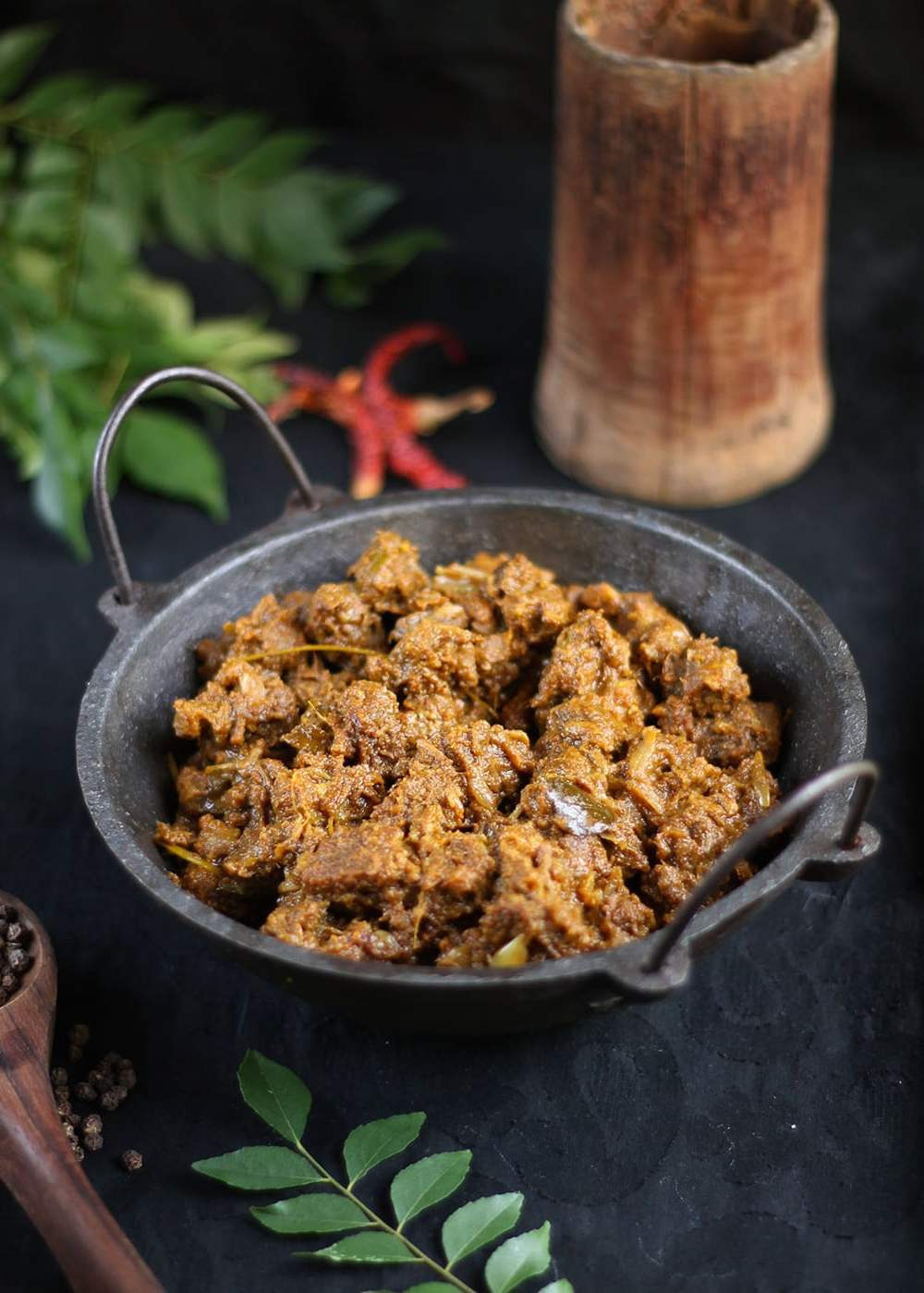 Beef varatiyathu (Erachi varatiyathu)