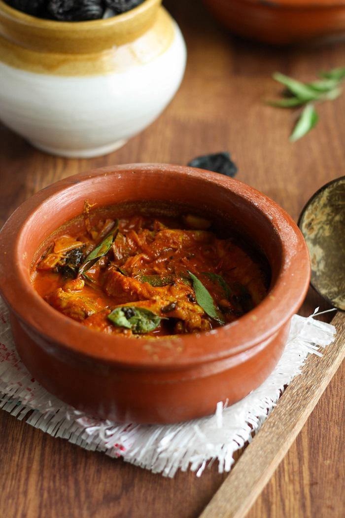 Kottayam Fish Curry Or Meen Vevichathu