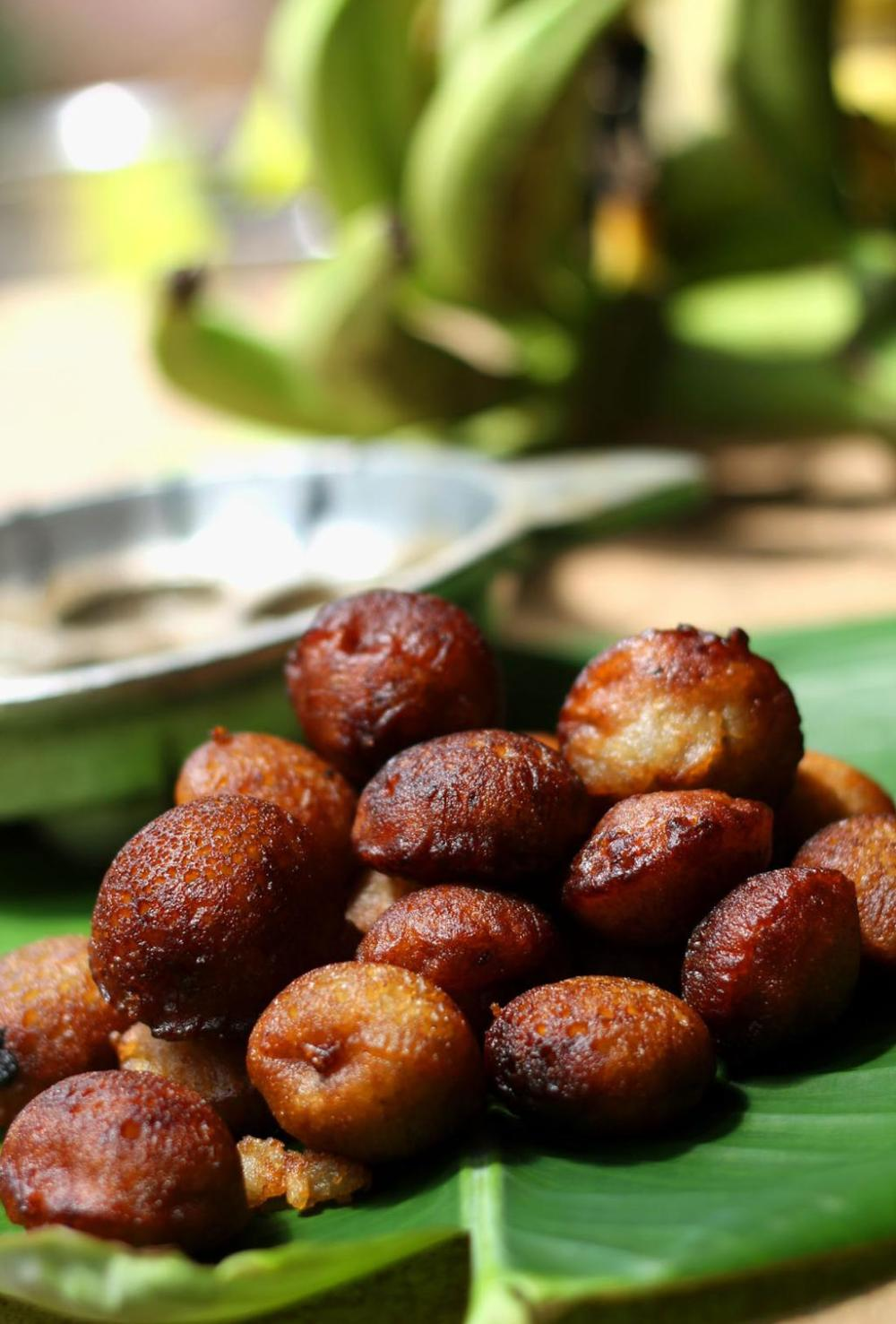 Unniyappam (Sweet rice fritters)