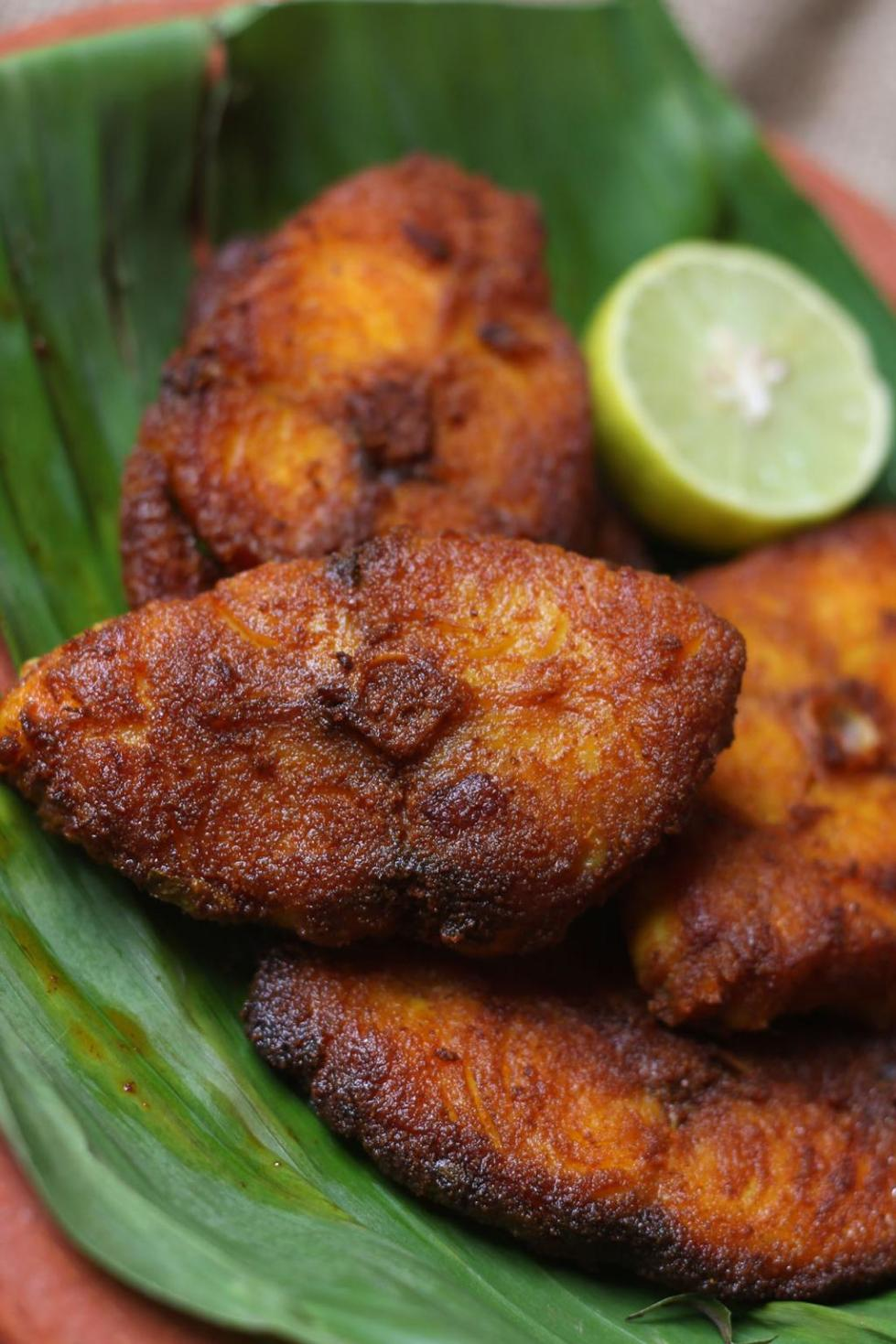 Kerala fish fry meen varuthathu recipe sujis cooking spicy fish fry is an important item in the south indian non vegetarian mealsy south indian non vegetarian meal is incomplete with out this delicacy forumfinder Images