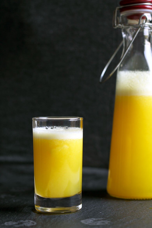 Fresh Pineapple and Turmeric Lemonade