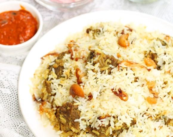 Beef Biriyani(Kerala style)