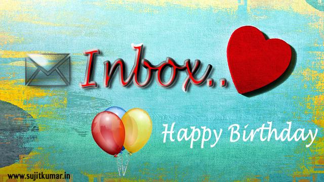 happy birthday inbox love