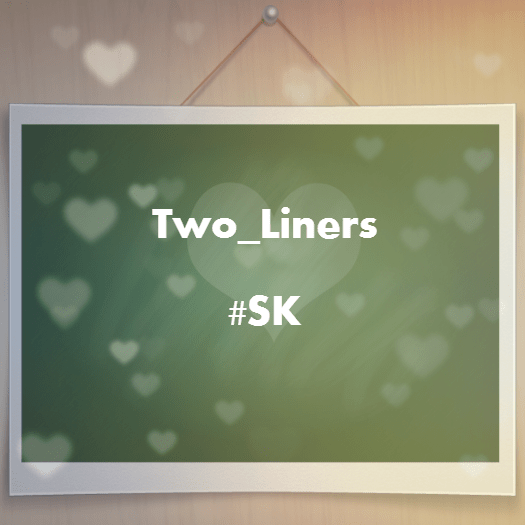 Two_Liners From Sujit