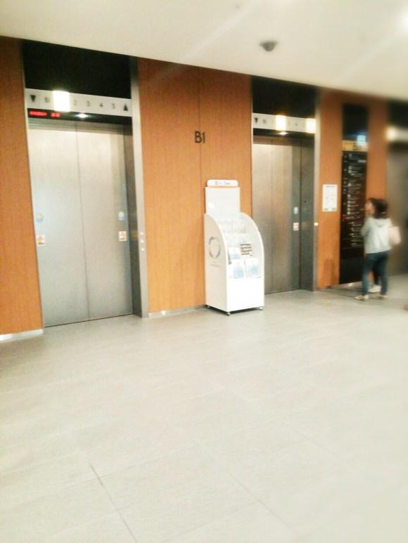 スカイツリーのエレベーターホール