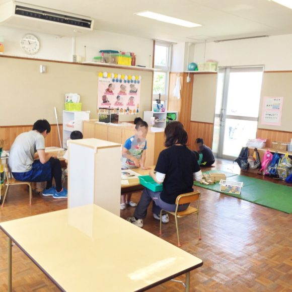 幼稚部の教室