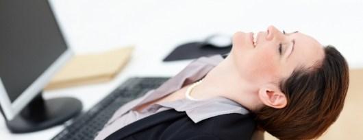 ćwiczenia dla siedzących w pracy