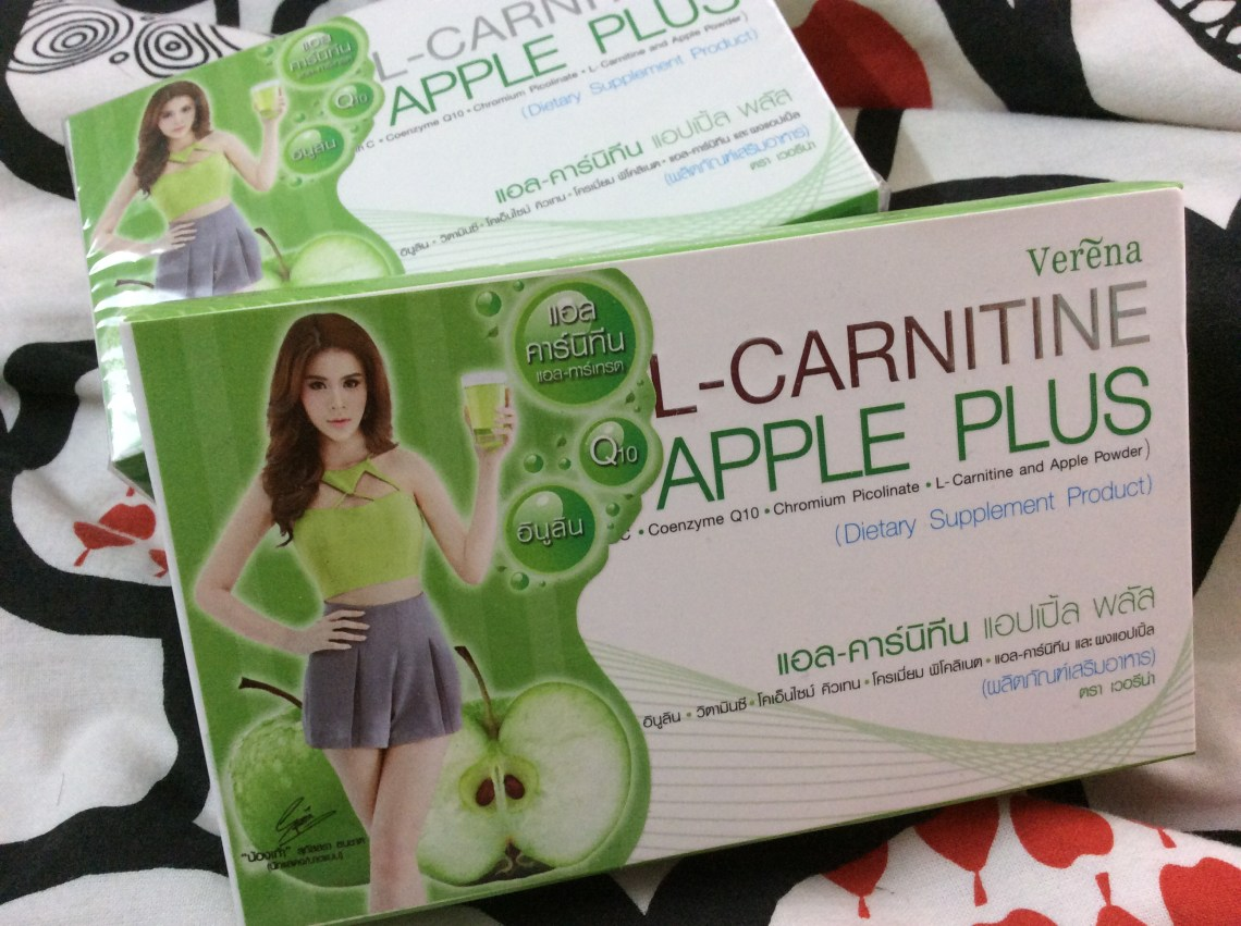 Review L-Carnitine Apple plus
