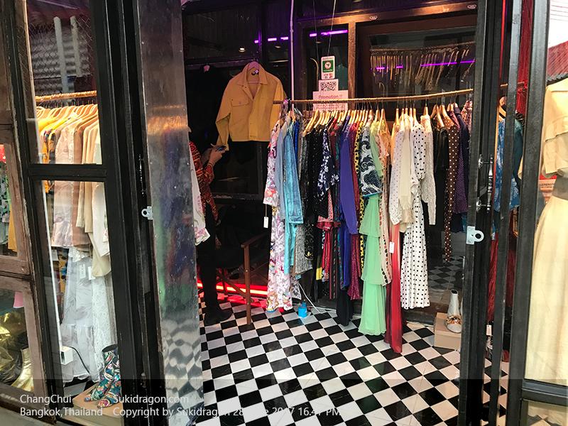 Chang Chui Market Bangkok Thailand