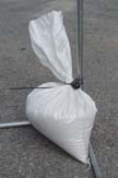 Sandbags for your sukkah