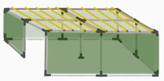 16x16 Tubular Sukkah Kit