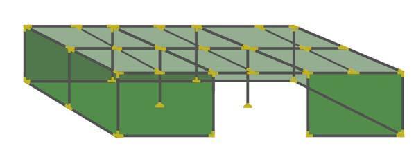24x36 Tubular Sukkah Kit
