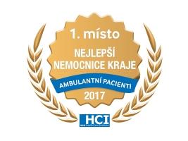 Královédvorská nemocnice je první v kraji v hodnocení ambulantní péče