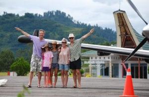 Tourist take Flight to Tana Toraja