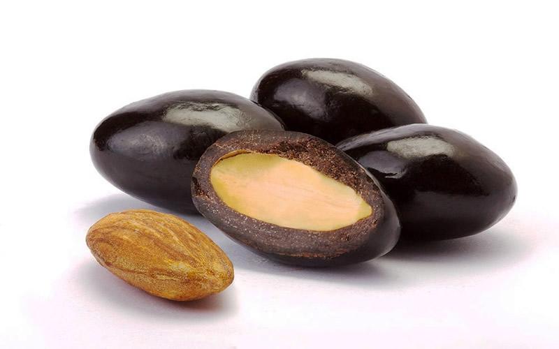 Bitter Çikolatalı Badem Draje
