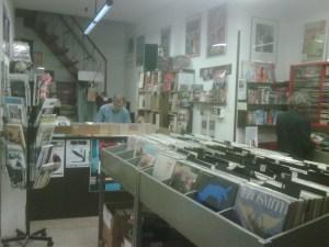 Crash Records Padova interno