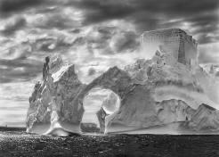 Sebastião Salgado Genesi iceberg mare di Weddell, penisola antartica, gennaio febbraio 2005