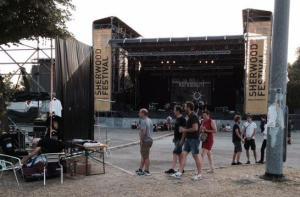 Sherwood Festival Padova 11 07 2015 il palco