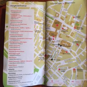 Internazionale FE 2016 mappa i luoghi del festival