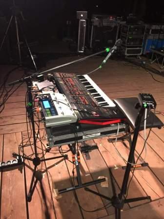 Sohn tastiere keyboards Padova Anfiteatro del Venda 07/07/2017