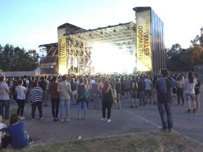 The Zen Circus Padova Festival di Radio Sherwood palco